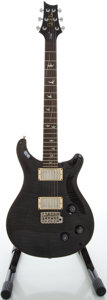 Musical Instruments:Electric Guitars, 2005 Paul Reed Smith (PRS) 20th Custom 22 Trans Black Solid BodyElectric Guitar, Serial #5101291....