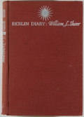 Books:World History, Group of Two Inscribed Books Relating to World War II Era Germany,including: William L. Shirer. Berlin Diary. N... (Total: 2Items)