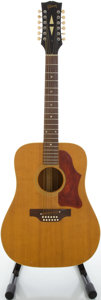 Musical Instruments:Acoustic Guitars, Circa: 1968 Gibson B45-12 Natural 12 String Acoustic Guitar, Serial#892226....