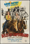 """Movie Posters:Western, Bells of Capistrano (Republic, 1942). One Sheet (27"""" X 41""""). Western.. ..."""