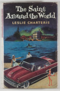 Books:Mystery & Detective Fiction, Leslie Charteris. The Saint Around the World. London: Hodder& Stoughton, [1957]. First edition, first printing. Twe...