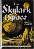 Books:Science Fiction & Fantasy, [Jerry Weist]. Edward E. Smith. The Skylark of Space. Brooklyn: F. F. F. Publisher's, [1950]. Third edition. Oct...
