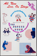 "Movie Posters:Animated, Popeye Stage Show (Various, 1970s). Poster (25"" X 38""). Animated....."