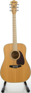 Musical Instruments:Acoustic Guitars, Early 1980's Ibanez NW-40 Natural Acoustic Guitar, Serial#821203....