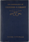 Books:Americana & American History, J. F. C. Fuller. The Generalship of Ulysses S. Grant. NewYork: Dodd, Mead, 1929. First edition, first printing. Oct...