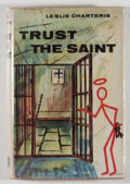 Books:Mystery & Detective Fiction, Leslie Charteris. Trust the Saint. London: Hodder &Stoughton, [1962]. First edition, first printing. Twelvemo. 188 ...