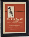Books:Americana & American History, Tom Lea. The King Ranch. Boston: Little, Brown, [1957].First edition, first printing. Two octavo volumes. Publisher...