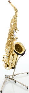 Musical Instruments:Horns & Wind Instruments, Yamaha YAS-52 Brass Alto Saxophone, Serial #025069....
