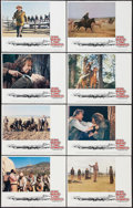 "Movie Posters:Western, The Cowboys (Warner Brothers, 1972). Lobby Card Set of 8 (11"" X 14""). Western.. ... (Total: 8 Items)"