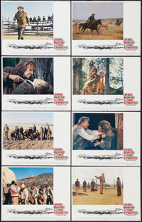 """The Cowboys (Warner Brothers, 1972). Lobby Card Set of 8 (11"""" X 14""""). Western. ... (Total: 8 Items)"""
