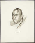 Football Collectibles:Others, 1960's Elijah Pitts Williams Advertising Rare Oversized Green Bay Packers Print....