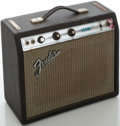 Musical Instruments:Amplifiers, PA, & Effects, 1970's Fender Champ Silverface Guitar Amplifier, Serial #A32639....