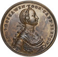 Betts Medals, Betts-403. 1758 Boscawen at Louisbourg. Pinchbeck, tinned. AboutUncirculated. ...