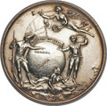 Betts Medals, Betts-410. 1758 Louisbourg Taken. Silver, plugged. Extremely Fine....