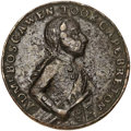 Betts Medals, Betts-409. 1758 Boscawen at Louisbourg. Pinchbeck. Very Fine. ...