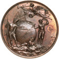 Betts Medals, Betts-410. 1758 Louisbourg Taken. Bronze. About Uncirculated. ...