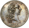 Betts Medals, Betts-415. 1758 Oswego. Silver. Reeded edge. About Uncirculated....