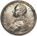 Betts Medals, Betts-416. Victories of 1758. Silver. Extremely Fine. ...