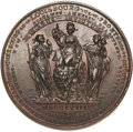 Betts Medals, Betts-419. Victories of 1758 and 1759. Golden bronze. AboutUncirculated. ...