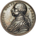 Betts Medals, Betts-422. 1759 Death of Wolfe. Silver. About Uncirculated. ...