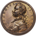 Betts Medals, Betts-420. Victories of 1759 / Wolfe and Saunders. Bronze.Extremely Fine. ...