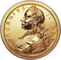 Betts Medals, Betts-416. Victories of 1758. Gold. Choice Mint State. ...