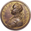 Betts Medals, Betts-418. Victories of 1759. Golden bronze. Extremely Fine. ...