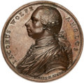 Betts Medals, Betts-422. 1759 Death of Wolfe. Bronze. Choice About Uncirculated....