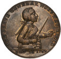 Betts Medals, Betts-unlisted. 1759 Death of Wolfe. Pinchbeck. Choice Very Fine....