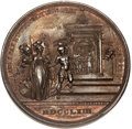 Betts Medals, Betts-445. 1763 Sweet Peace Concluded. Bronze. Choice Mint State....