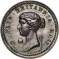 Betts Medals, Betts-unlisted. 1761 Belle Isle Taken. Silver. WILLIAM PITT ADMINISTRING edge. About Uncirculated. ...