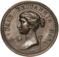 Betts Medals, Betts-411. 1758 Louisbourg Taken. Bronze. Extremely Fine. ...