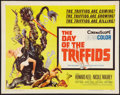 "Movie Posters:Science Fiction, The Day of the Triffids (Allied Artists, 1962). Half Sheet (22"" X28""). Science Fiction.. ..."