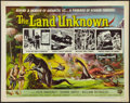 """Movie Posters:Science Fiction, The Land Unknown (Universal International, 1957). Half Sheet (22"""" X28"""") Style A. Science Fiction.. ..."""