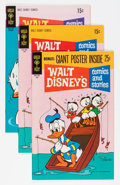 Bronze Age (1970-1979):Cartoon Character, Walt Disney's Comics and Stories File Copies Group (Gold Key,1970-71) Condition: Average NM-.... (Total: 15 Comic Books)