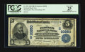 National Bank Notes:West Virginia, Rowlesburg, WV - $5 1902 Date Back Fr. 594 The Peoples NB Ch. #(S)10250. ...