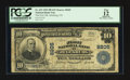 National Bank Notes:Colorado, Julesburg, CO - $10 1902 Plain Back Fr. 625 The First NB Ch. #8205. ...