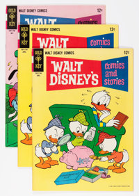 Walt Disney's Comics and Stories File Copies Group (Gold Key, 1964-67) Condition: Average NM-.... (Total: 15 Comic Books...
