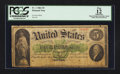 Large Size:Demand Notes, Fr. 1 $5 1861 Demand Note PCGS Apparent Fine 12.. ...