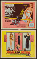 """Movie Posters:Bad Girl, Three Bad Sisters and Other Lot (United Artists, 1956). Title LobbyCards (2) (11"""" X 14""""). Bad Girl.. ... (Total: 2 Items)"""