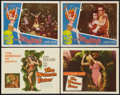 """Movie Posters:Horror, The Woman Eater and Other Lot (Columbia, 1959). Title Lobby Card and Lobby Cards (3) (11"""" X 14""""). Horror.. ... (Total: 4 Item)"""