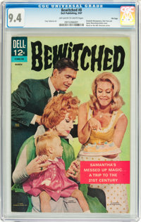 Bewitched #8 File Copy (Dell, 1967) CGC NM 9.4 Off-white to white pages