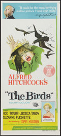 "Movie Posters:Hitchcock, The Birds (Universal, 1963). Australian Daybill (13.25"" X 30"").Hitchcock.. ..."