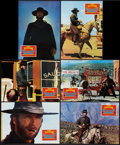 """Movie Posters:Western, High Plains Drifter (Universal, 1973). Spanish Lobby Card Set of 12 (9.5"""" X 13.5""""). Western.. ... (Total: 12 Items)"""