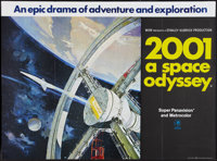 """2001: A Space Odyssey (MGM, 1968). British Quad (30"""" X 40""""). Science Fiction"""