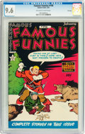 Golden Age (1938-1955):Miscellaneous, Famous Funnies #198 File Copy (Eastern Color, 1952) CGC NM+ 9.6 Off-white to white pages....