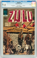 Silver Age (1956-1969):Adventure, Movie Classics: Zulu #nn File Copy (Dell, 1964) CGC NM+ 9.6 Off-white to white pages....
