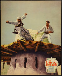 """The Lives of a Bengal Lancer (Paramount, 1935). Jumbo Lobby Card (11"""" X 14""""). Adventure"""