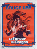 "Movie Posters:Action, Enter the Dragon (Warner Brothers, 1973). French Affiche (23.5"" X31.5""). Action.. ..."