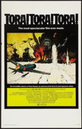 "Movie Posters:War, Tora! Tora! Tora! (20th Century Fox, 1970). Window Card (14"" X22""). War.. ..."